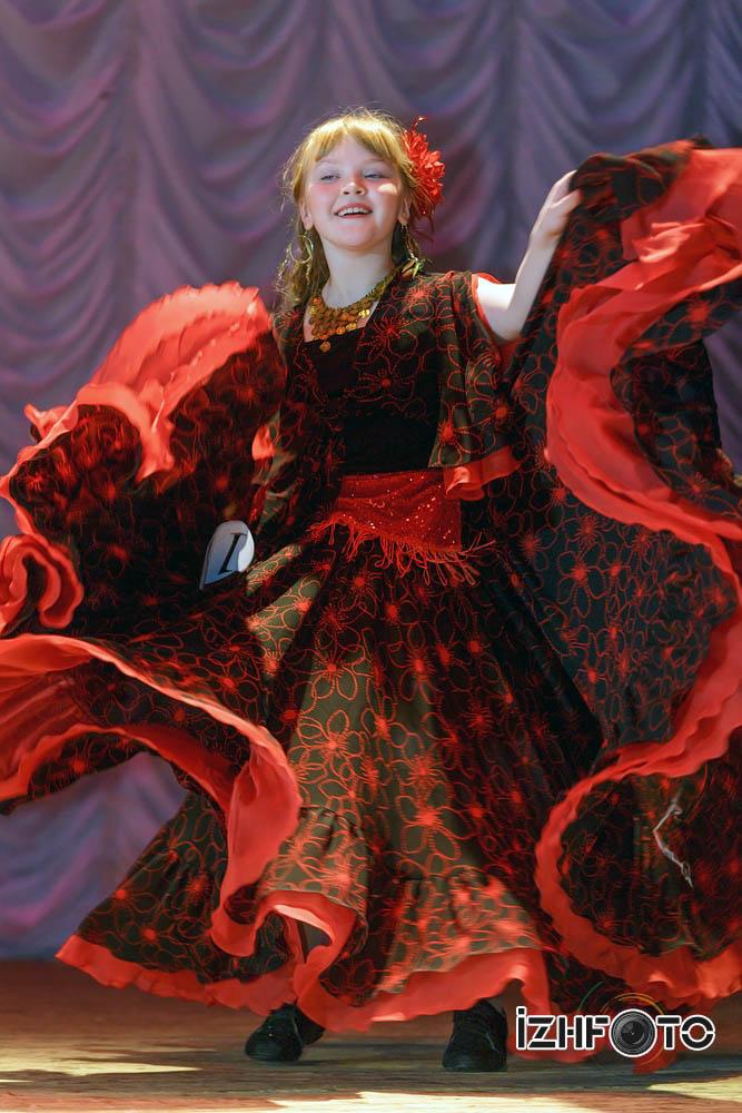 Трефилова Надежда Цыганский танец