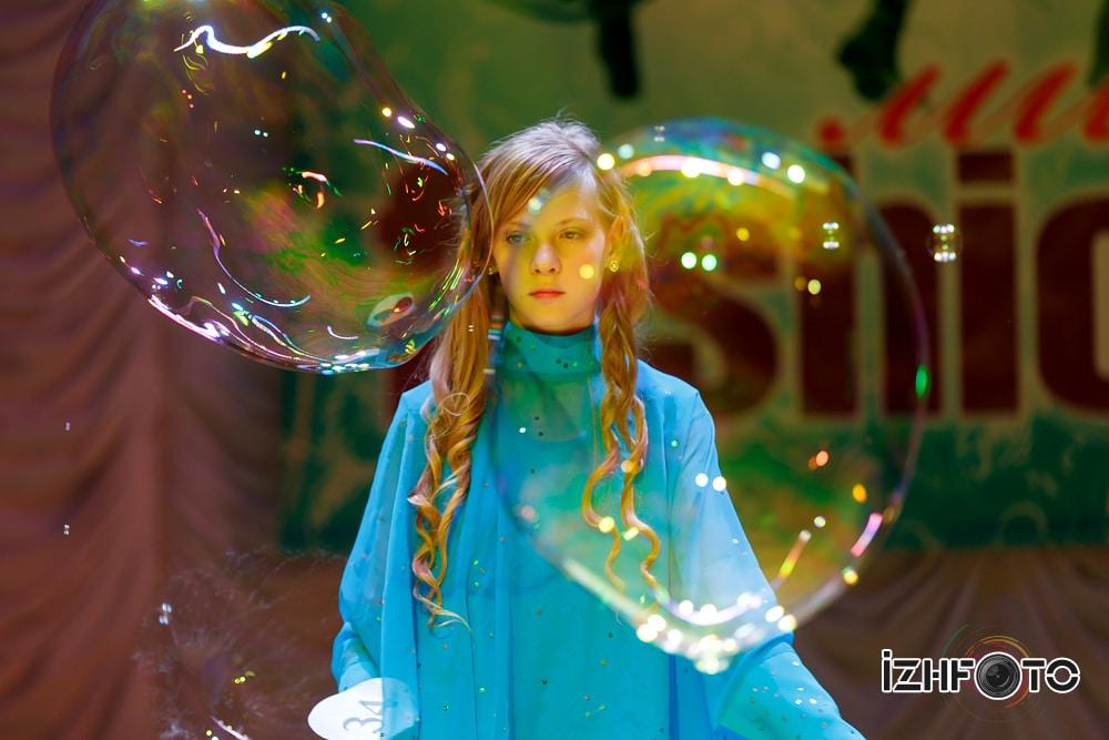 Вероника Никитина Шоу мыльных пузырей