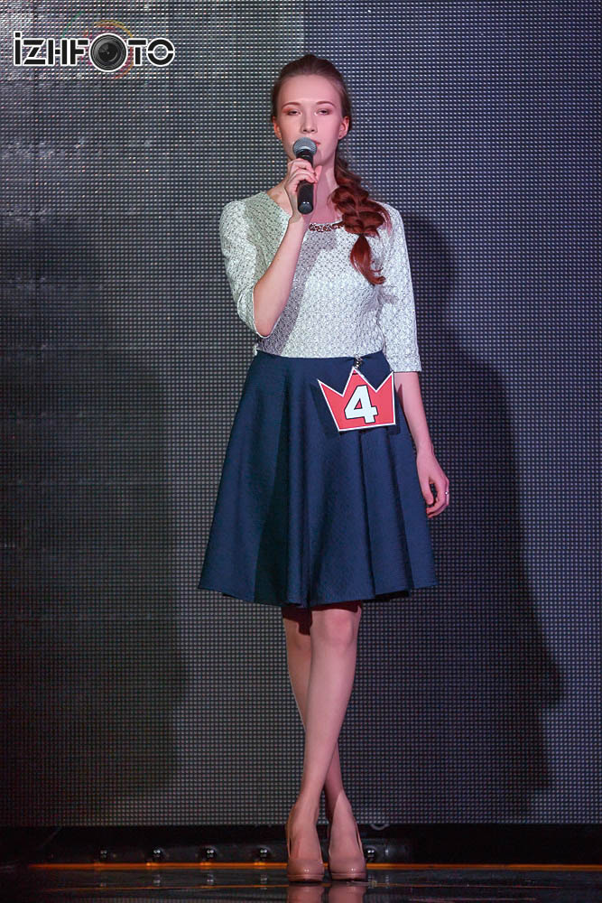 Творческие выступления участниц конкурса