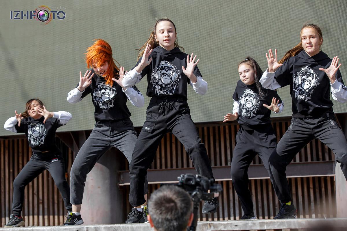Monkey Crew школы танцев Monkey Beat Ижевск