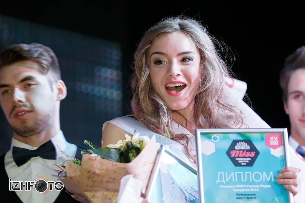 Участницы Мисс Русское Радио в Ижевске