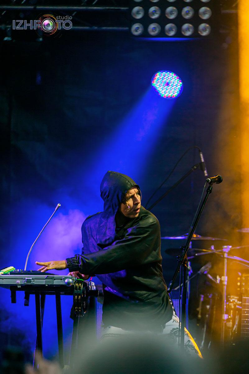 Фото с концерта Ильи Лагутенко