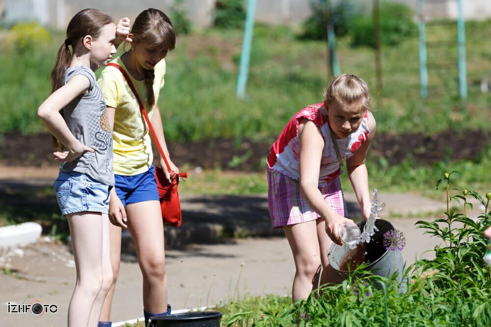 Детский отдых летом в Ижевске