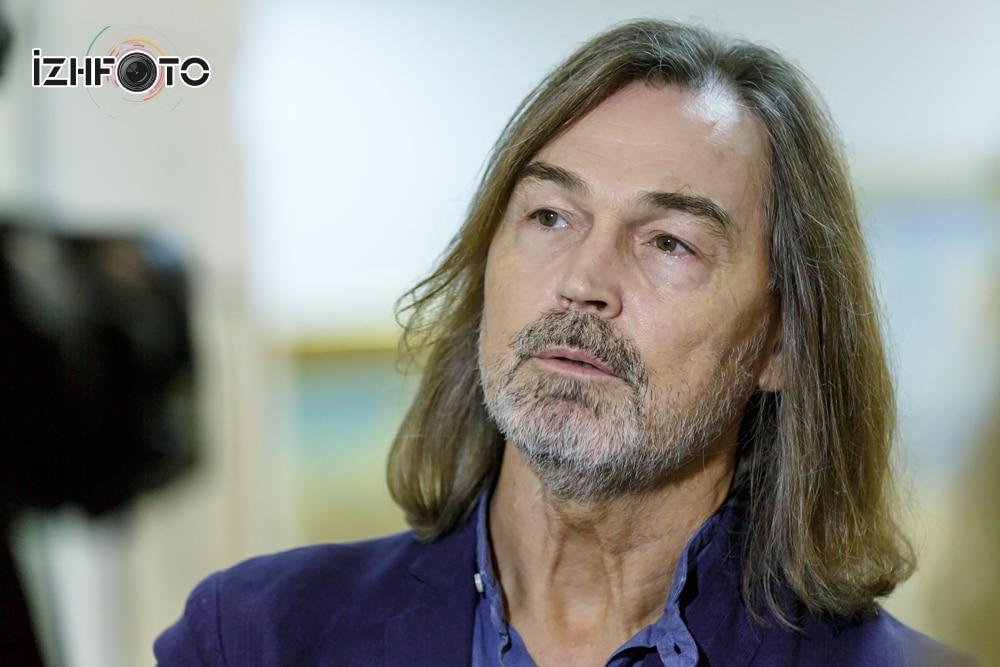 Никас Сафронов в Ижевске