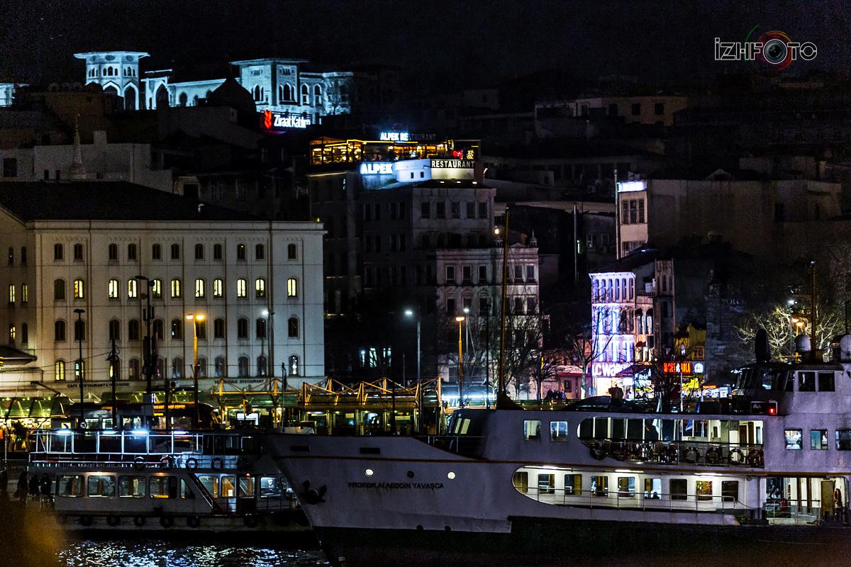Где погулять в Стамбуле ночью