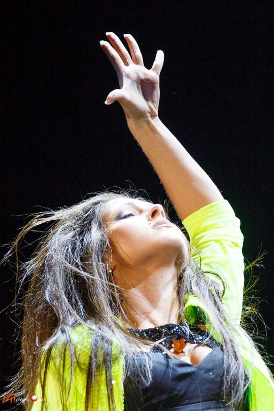 Фото с концерта Нюши в Ижевске