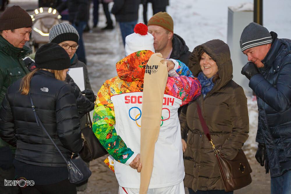 Маршрут Олимпийского Огня 2014