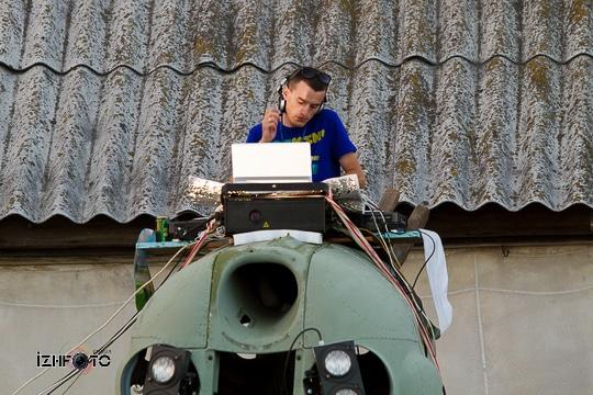 Фото с пенной дискотеки в Ижевске