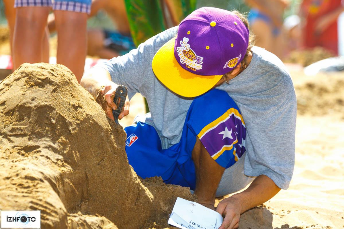 фигуры из песка своими руками