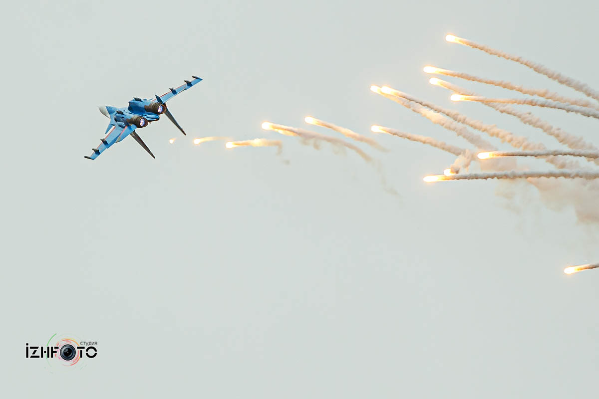 Су-30СМ в полете Фото