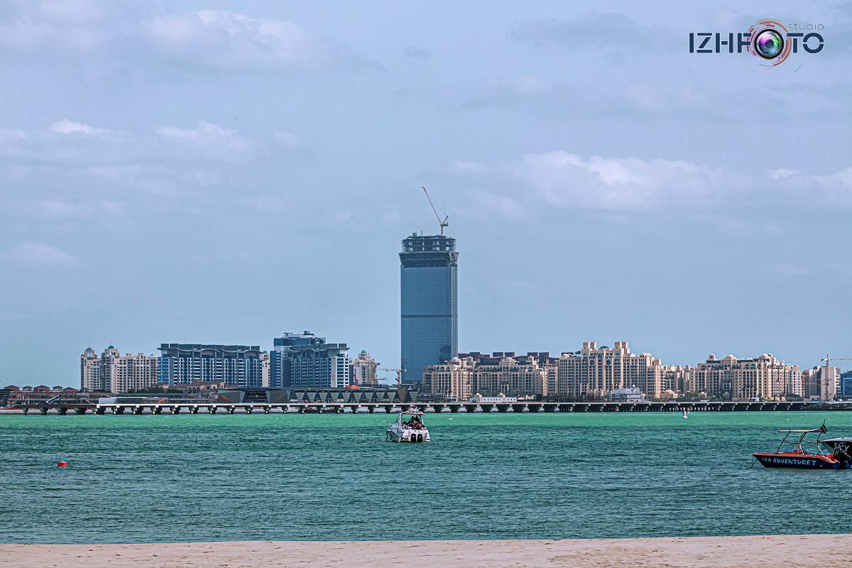 Строительство отелей в Дубае Фото