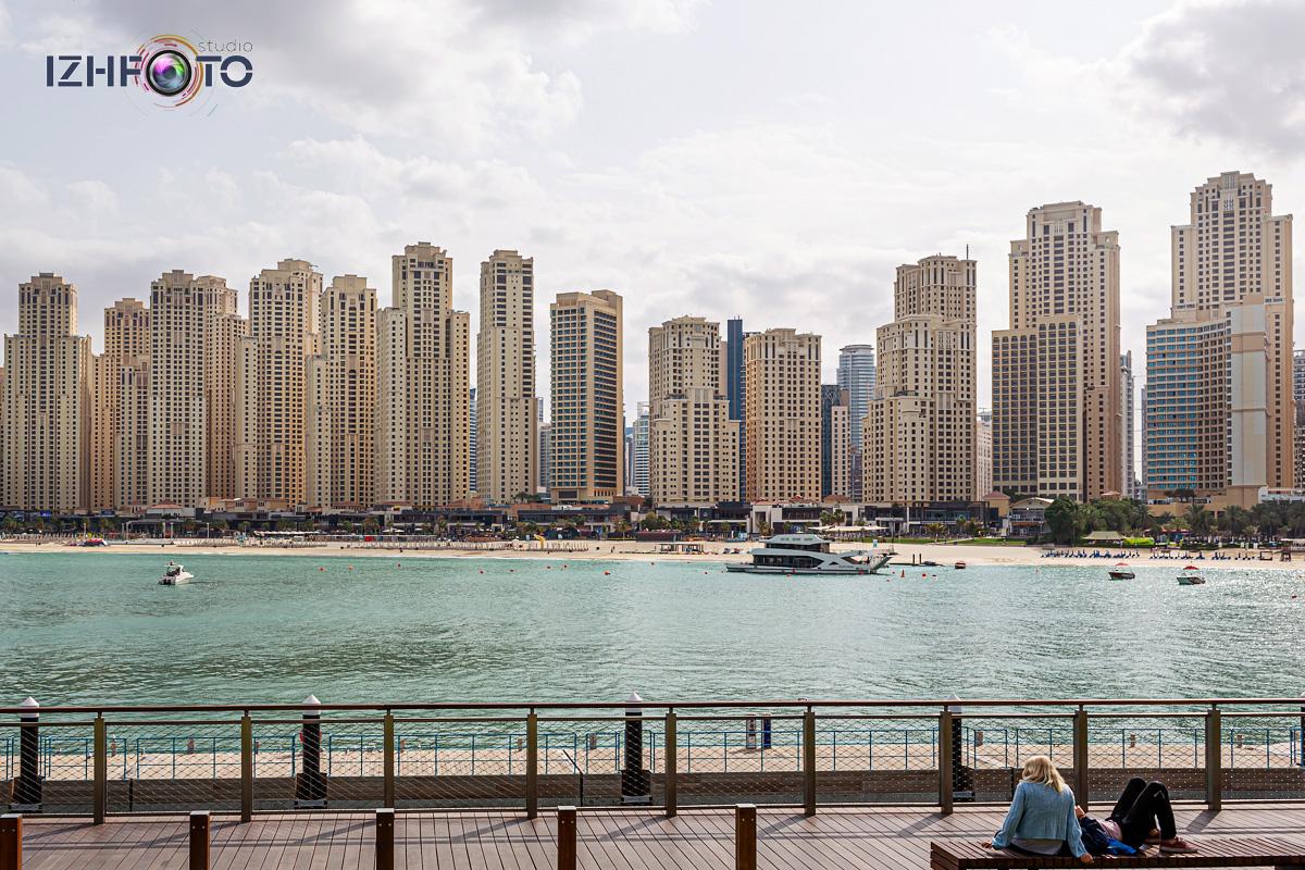 Утро в Дубае Фото