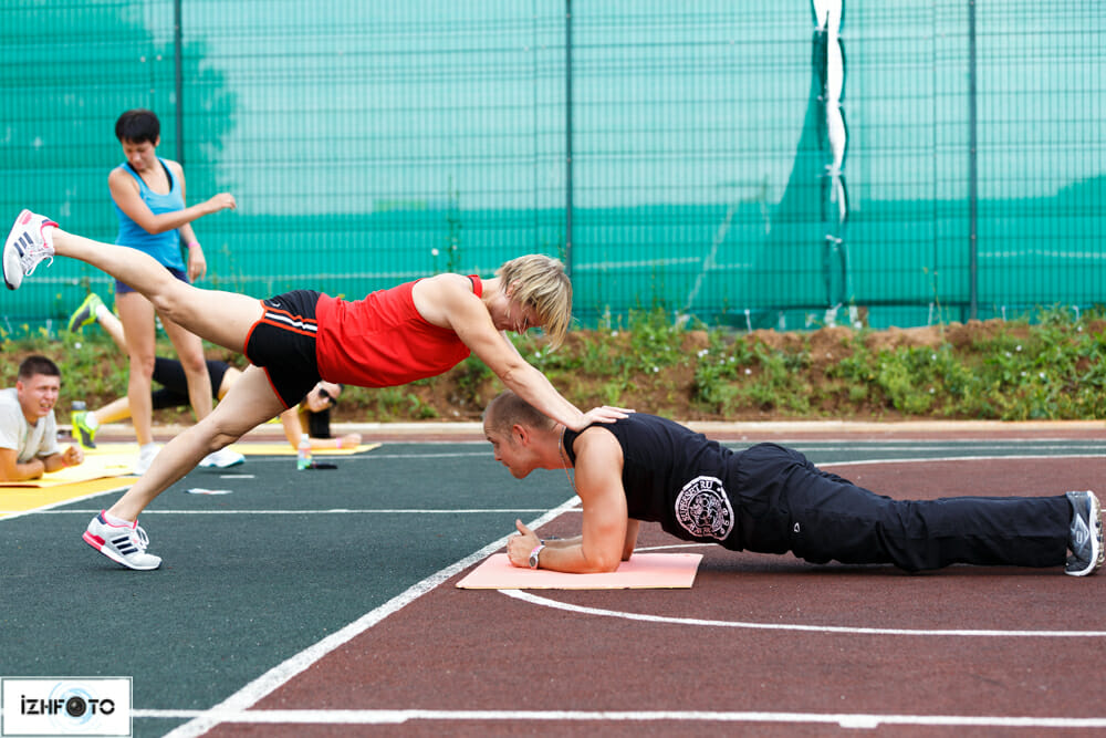 Тренировки в Ижевске Фото