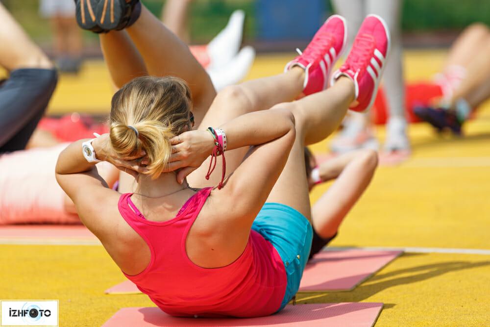 Тренировки на свежем воздухе в Ижевске