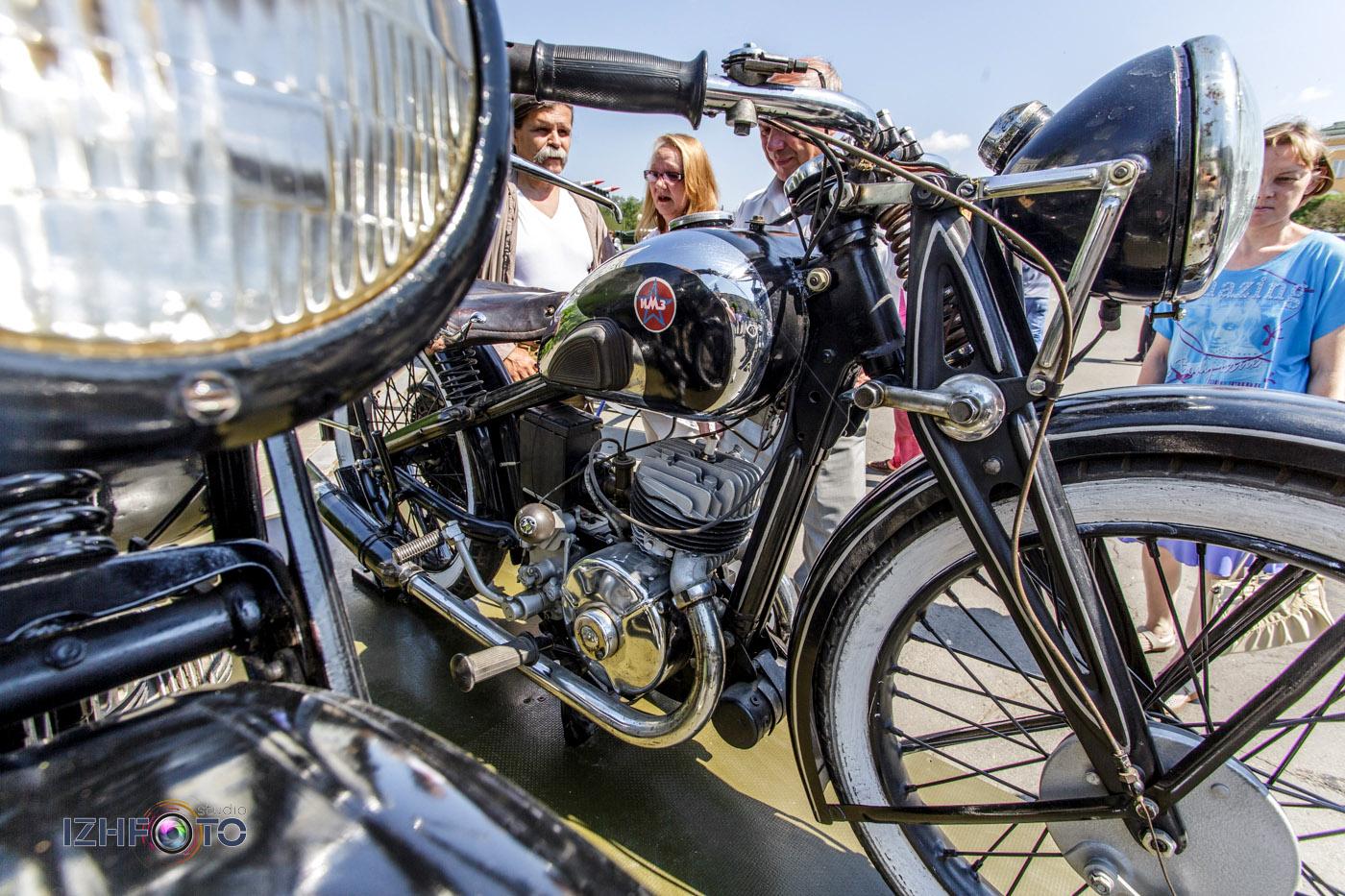 """Мотоцикл М-72 """"Ирбит"""" - фото"""