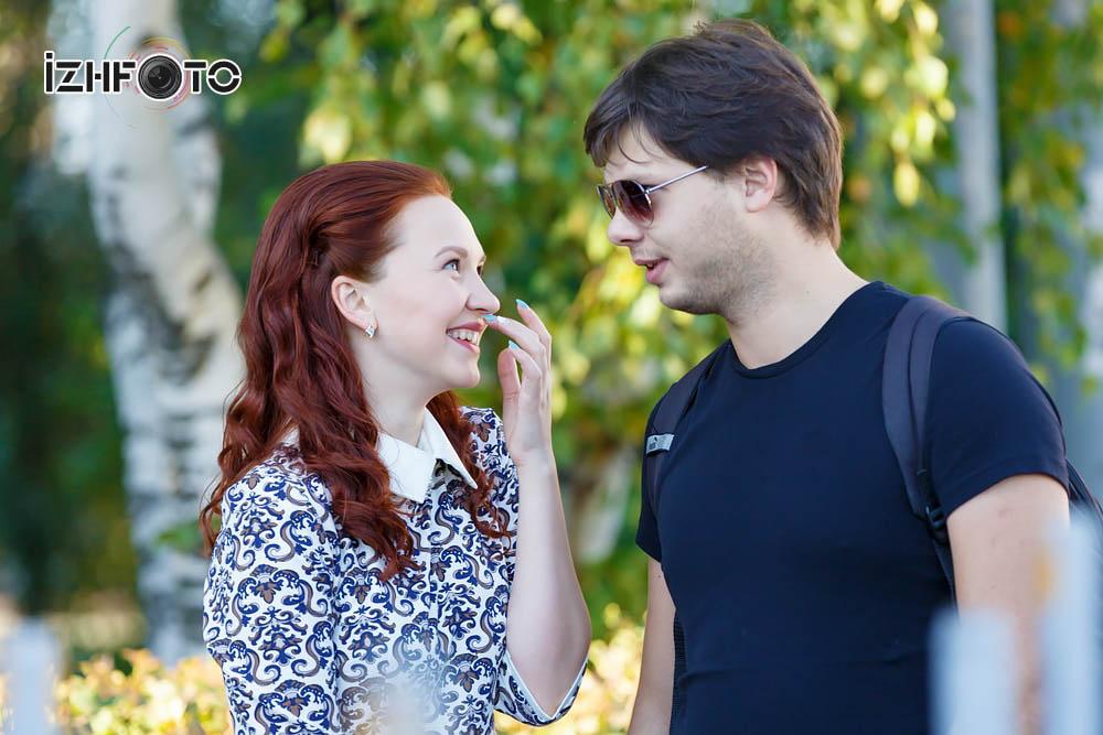Рыжая красавица  Ижевск Фото