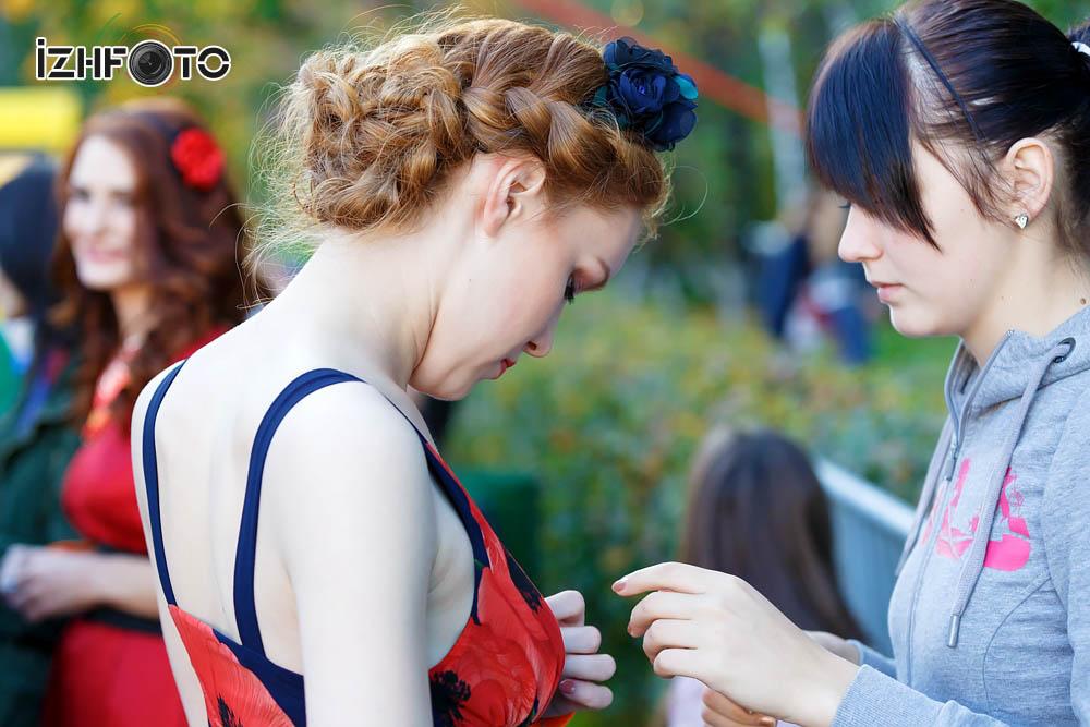 Участницы финала Рыжая красавица Фото
