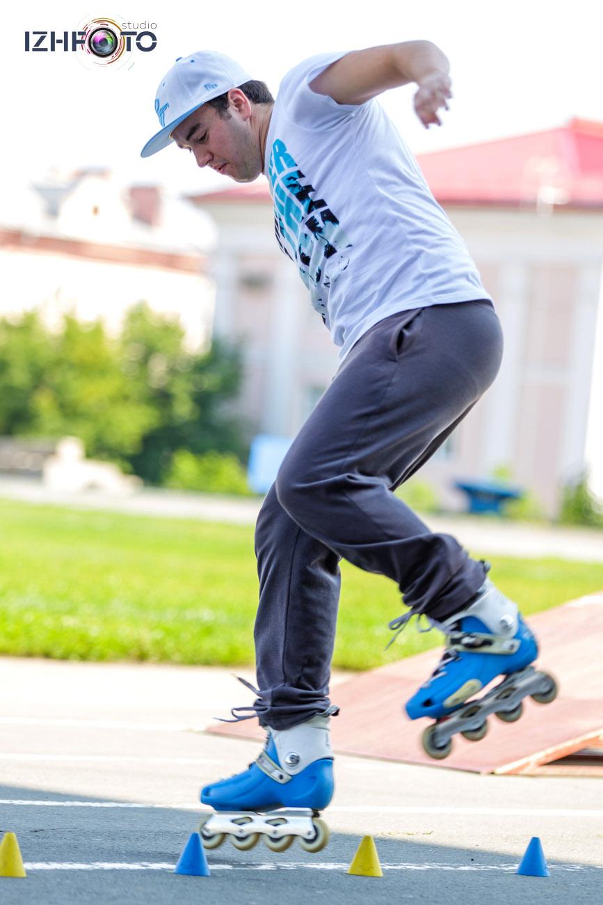 Занятия роллер спортом в Ижевске