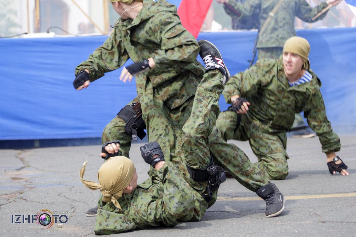 Как Ижевск отпраздновал день ВМФ