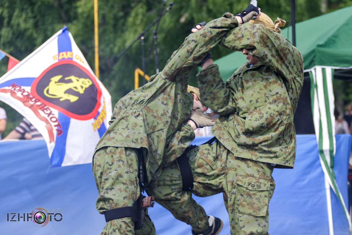 Рукопашный бой в Ижевске