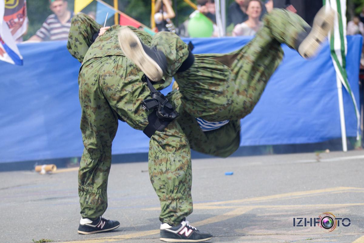 Организация тактических игр с применением пейнтбола, Ижевск