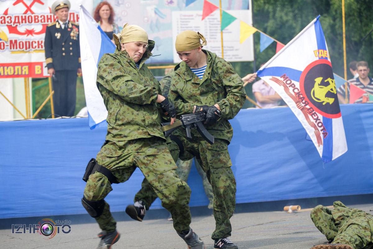 Показательные выступления по рукопашному бою, Ижевск
