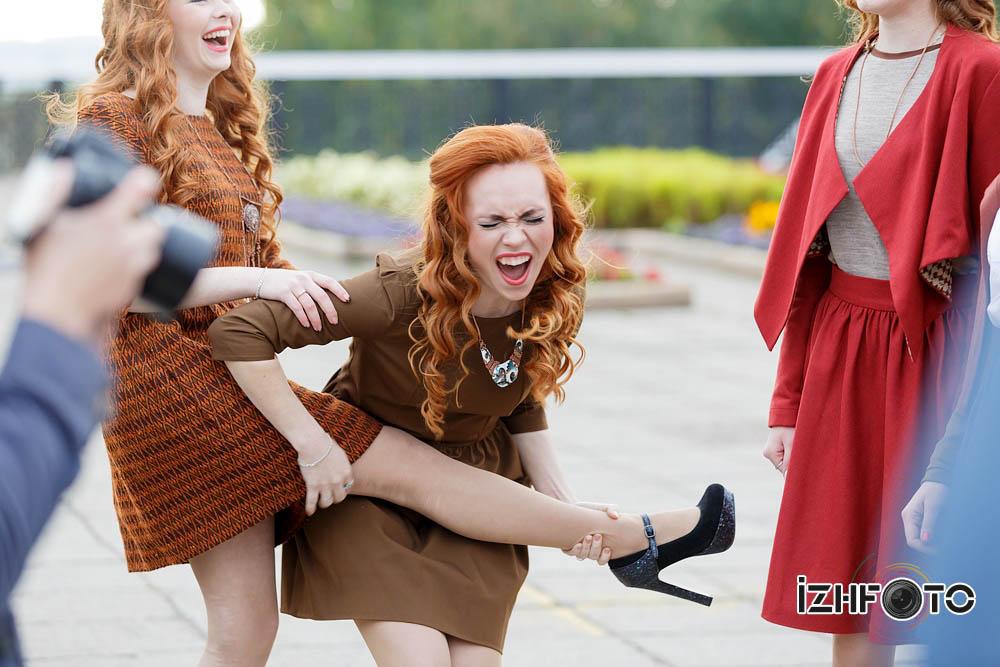 Рыжая красавица 2014 в Ижевске