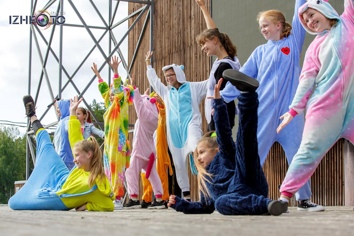 Фото выступления танцевальной школы ШОУ А5 Ижевск