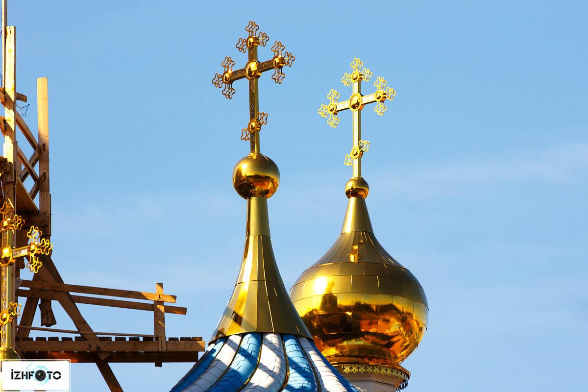 В Ижевске строится храм в честь Иверской иконы Божией Матери