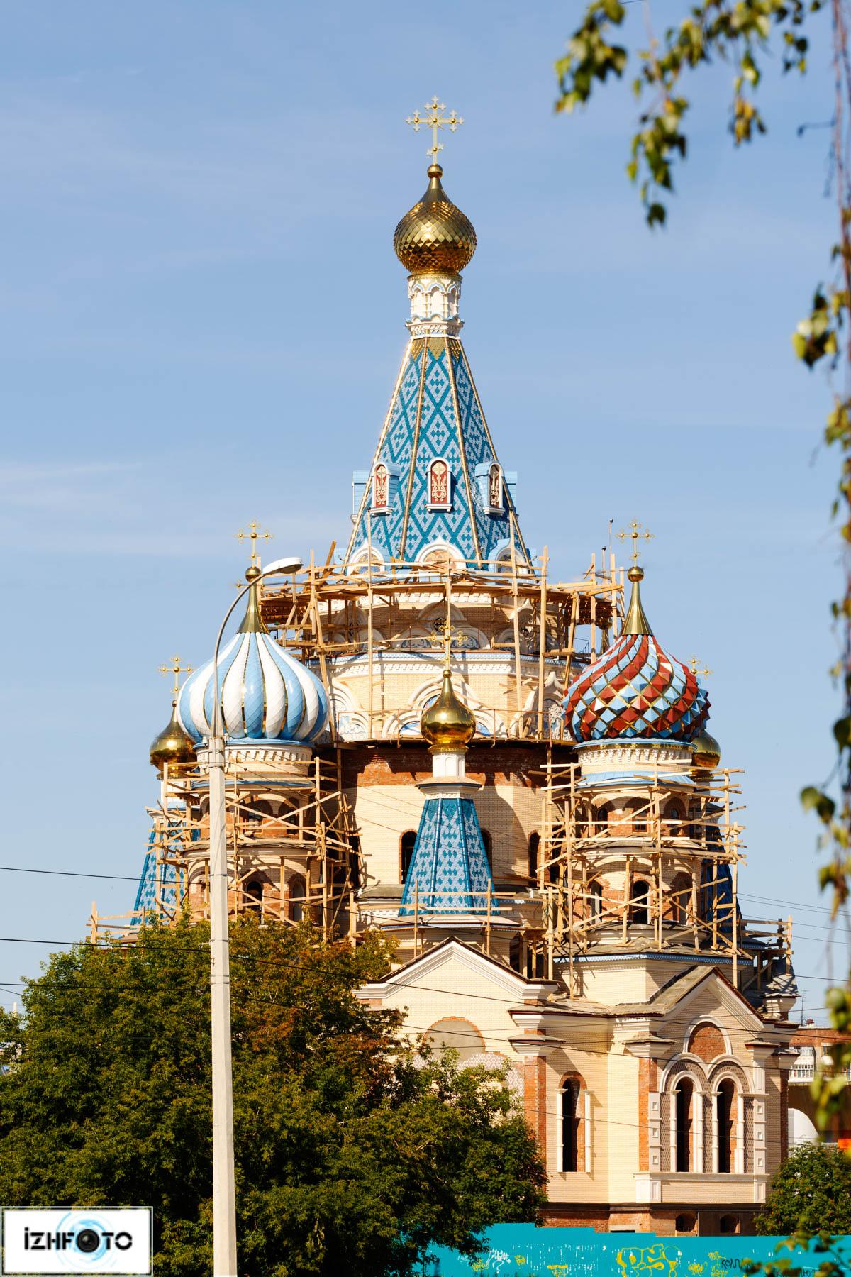 Храм Иверской иконы Божией Матери Ижевск Фото