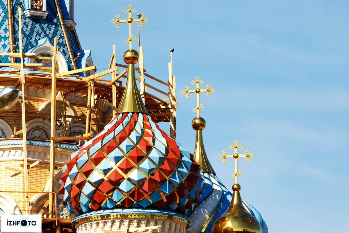 Храм Иверской иконы Божией Матери Ижевск