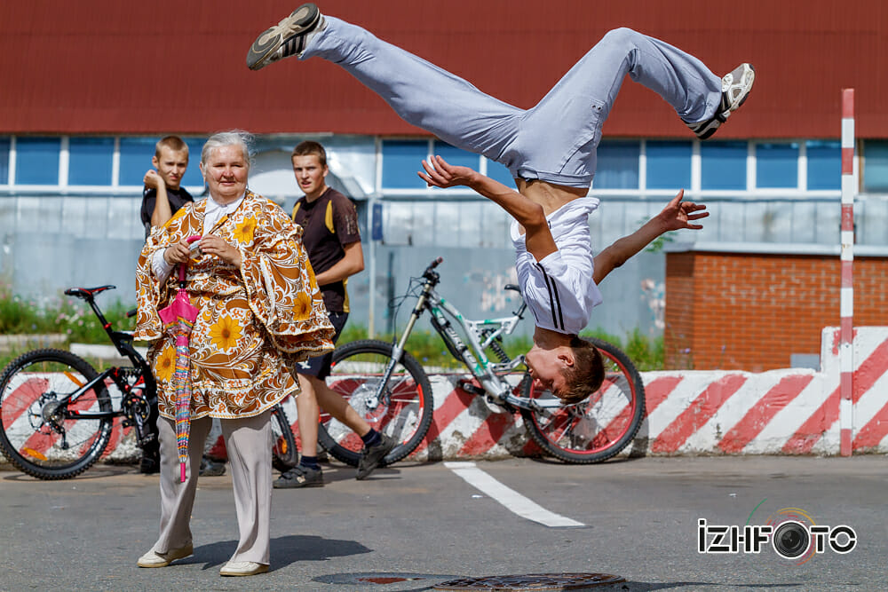 Паркур Ижевск Фото