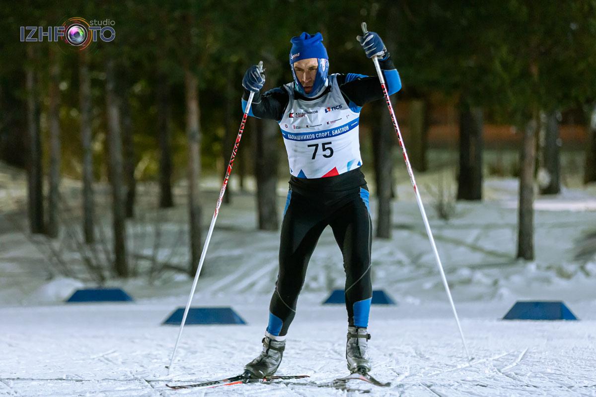 Фото с соревнований по биатлону в Ижевске