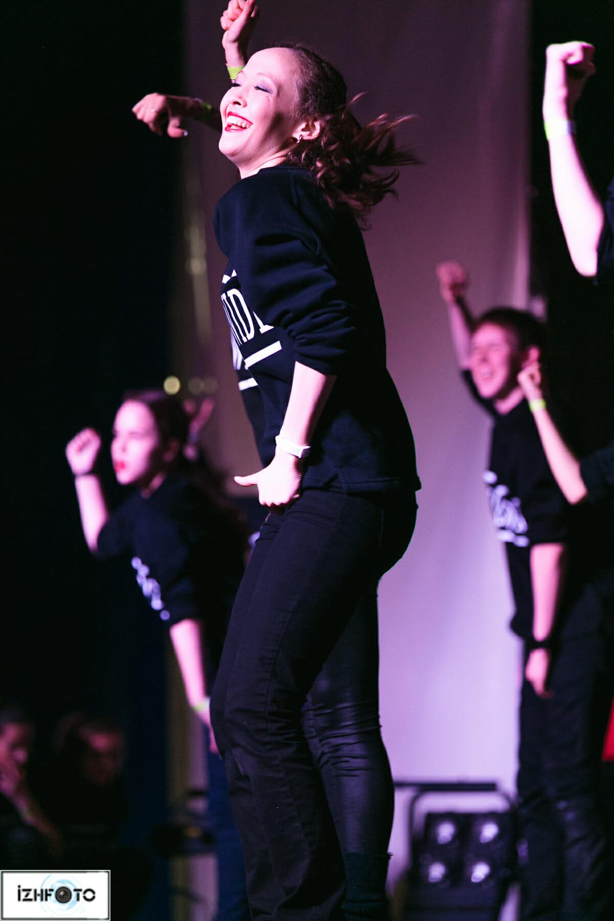 Фестиваль современного танца в Ижевске
