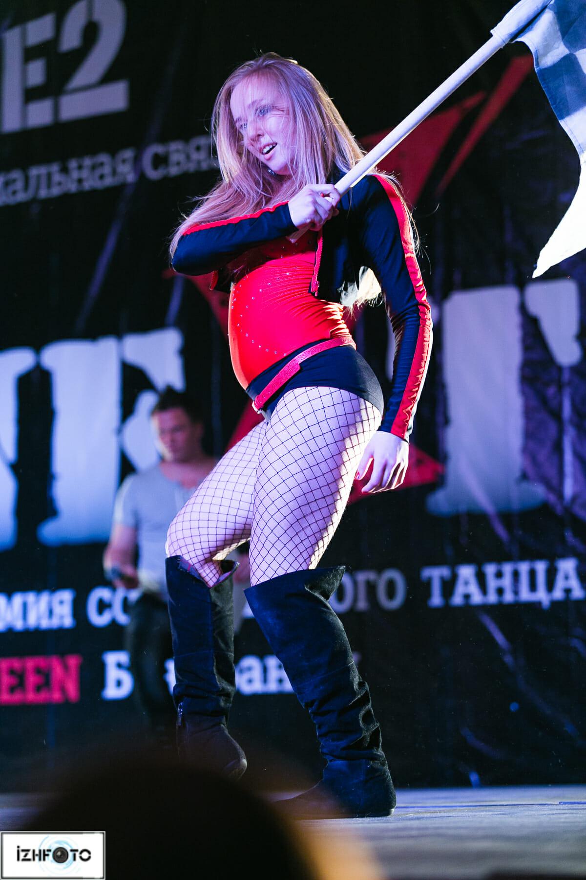 Выступление танцевальных коллективов, Ижевск