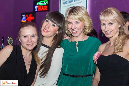 Ночной клуб Искра, день студента, Ижевск