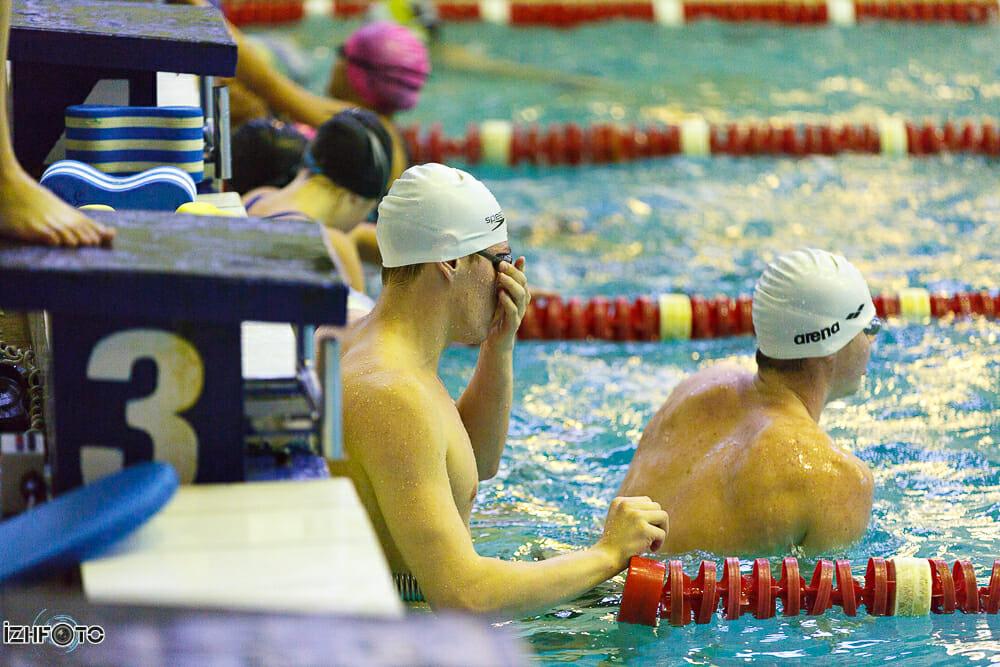 Соревнования по плаванию, Ижевск