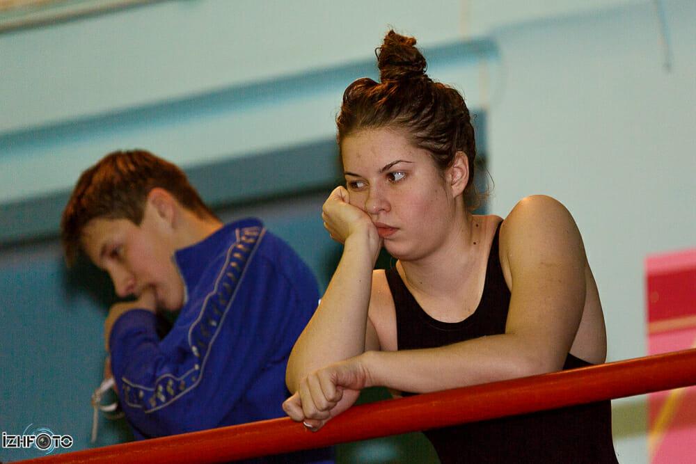 Фото с соревнований по плаванию в Ижевске
