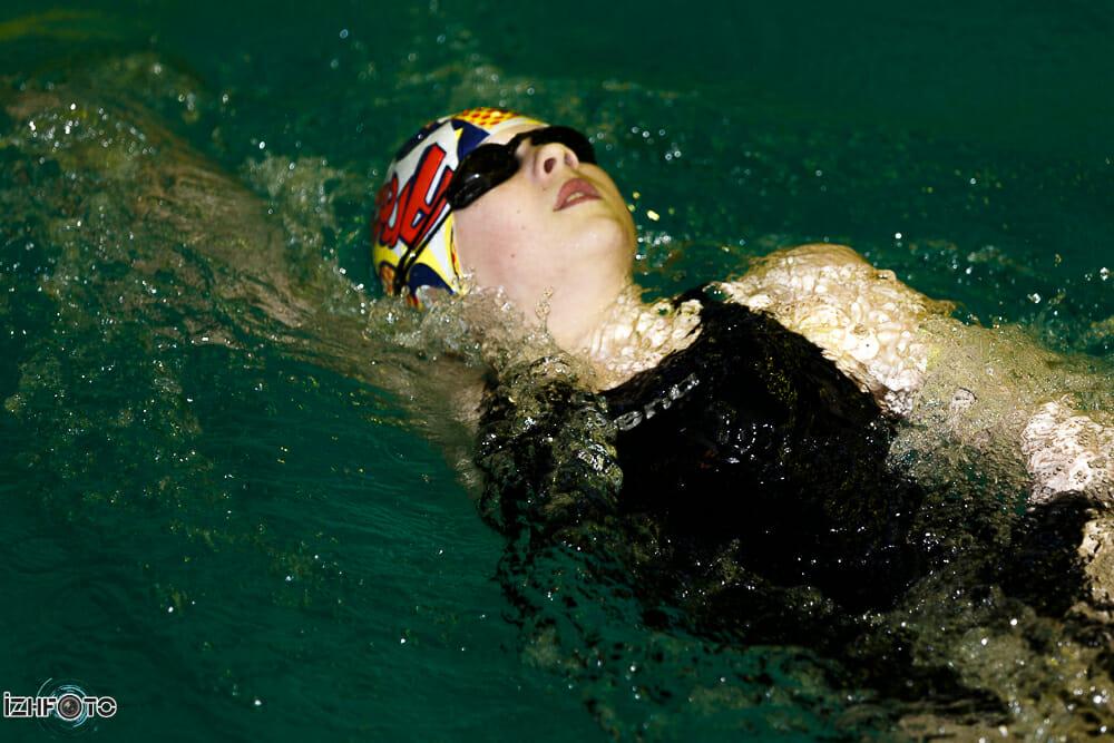 Фото с соревнований по плаванию