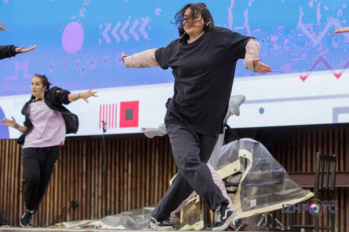 Фото выступлений танцевальных школ в Ижевске