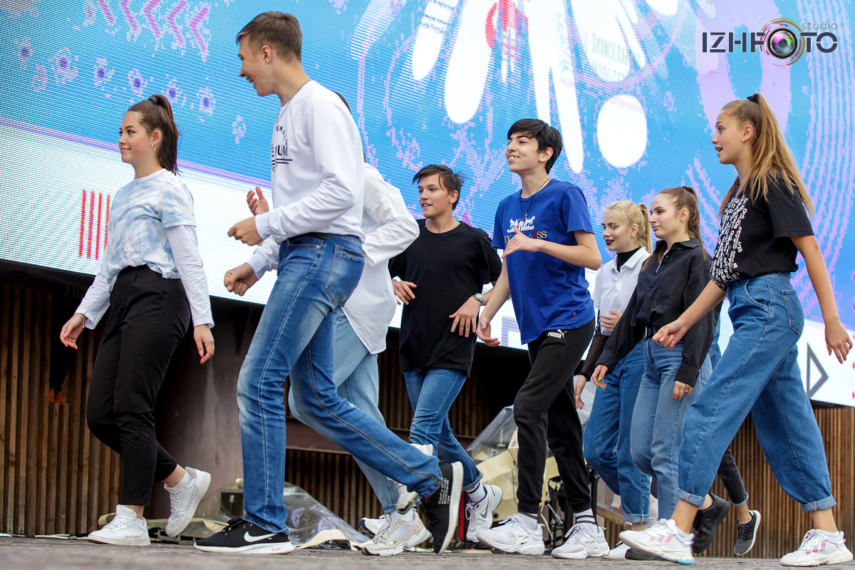 Фото с Фестиваля Атмосфера в Ижевске
