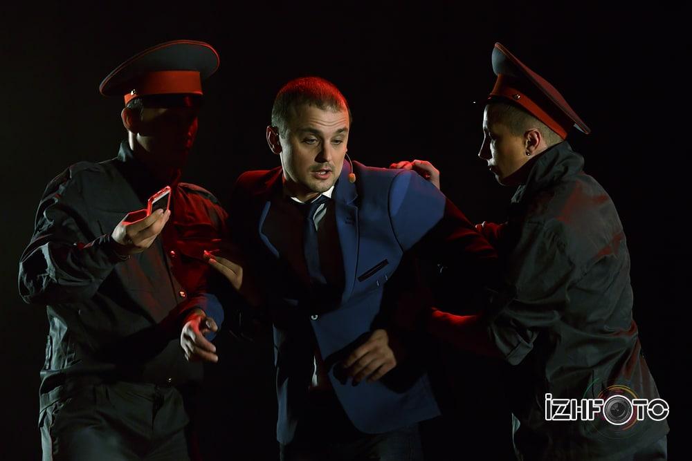 Мужское танцевальное шоу Фото