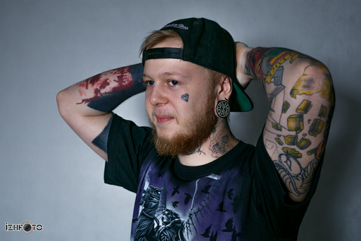 Фестиваль татуировки IzhCityInk в Ижевске