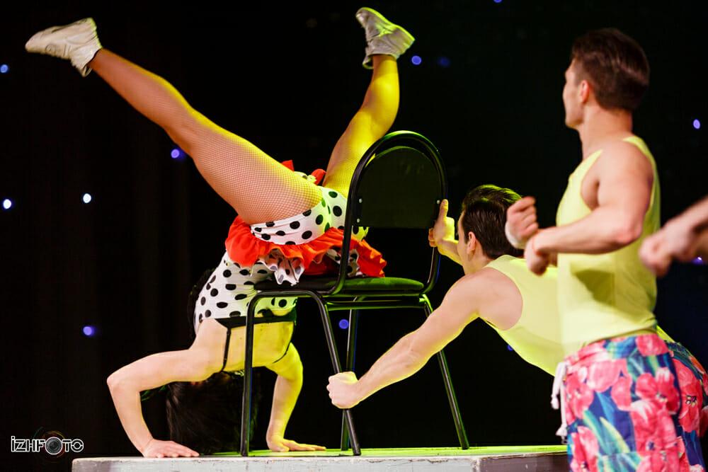 Фоторепортаж с выступления балета Тодес в Ижевск