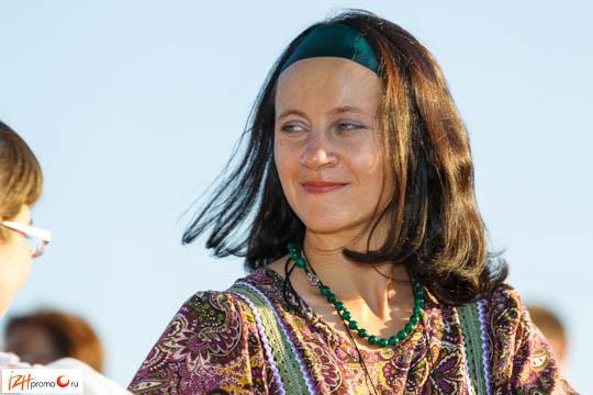 Организатор фестиваля «Танцы на траве» - Юлия Гулакова