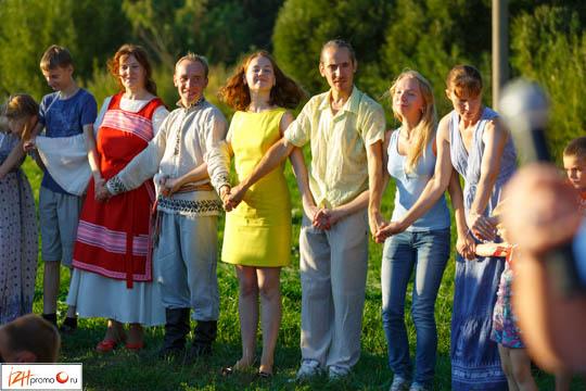 В Ижевске прошел фестиваль на открытом воздухе «Танцы на траве»