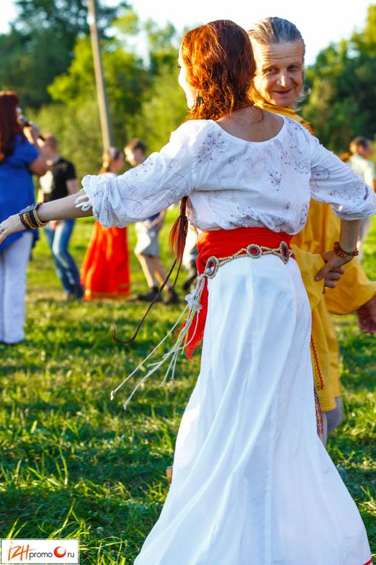 Фестиваль «Танцы на траве» посетило порядка 150 человек