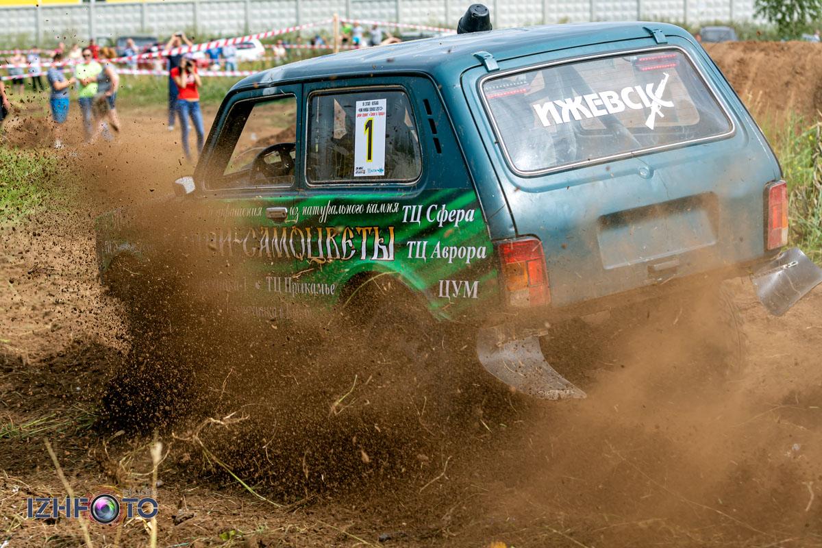 Соревнования по Джип-триалу в Ижевске