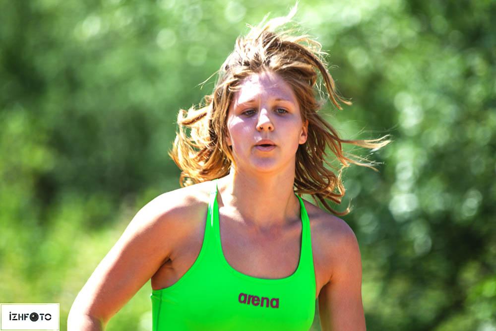 Фото с соревнований по триатлону