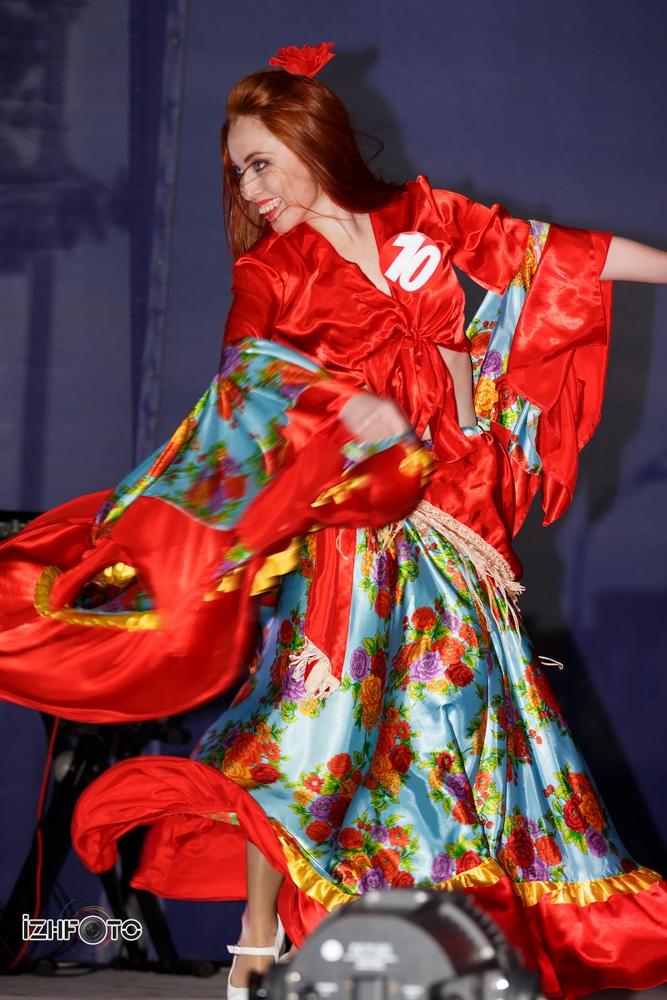 Рыжая красавица 2014 в Ижевске Фото